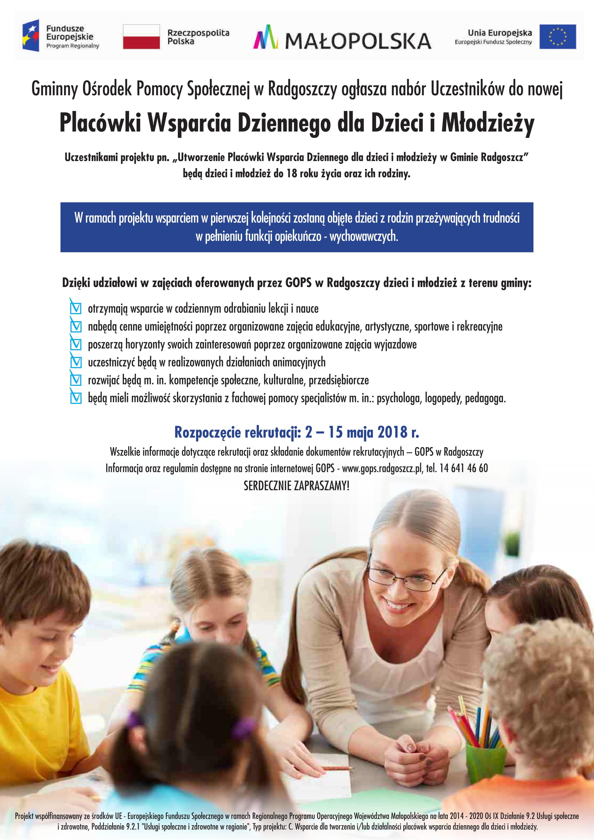 Placówka Wsparcia Dziennego dla Dzieci i Młodzieży